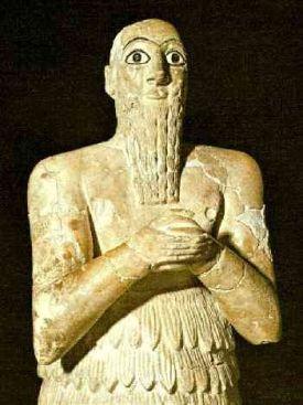 01 Escultura-de-Mesopotamia